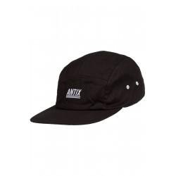 Antix Futura 5 Panel Cap Black
