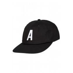 Antix Alpha 6 Panel Cap Black