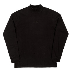Antix Mock Neck T-Shirt Black