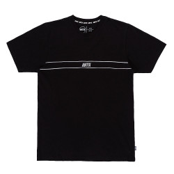 Antix Track T-Shirt Black