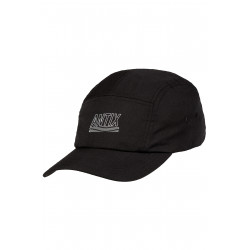 Antix Activa 5 Panel Cap Black