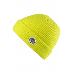 Willow Icon Beanie Neon Yellow