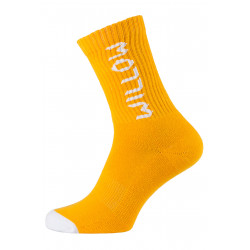 Willow Outline Socks Orange