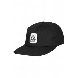 Anuell Arkam 6 Panel Cap Black