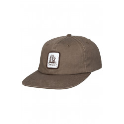 Anuell Arkam 6 Panel Cap Brown