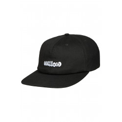 Willow Cloud 6 Panel Cap Black
